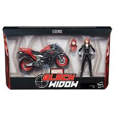 Original ☆ BLACK WIDOW ULTIMATE SERIES MARVEL LEGENDS Figure ☆  BIKE MOTORCYCLE
