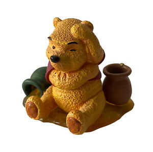 """Disney Winnie The Pooh  Simply Pooh """" Even Thinking Makes Me Hungry"""" Figurine"""
