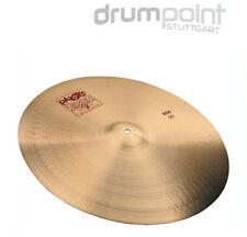 "Paiste 2002 20"" Ride Cymbal pelvis para batería Drums ** Topdeal **"