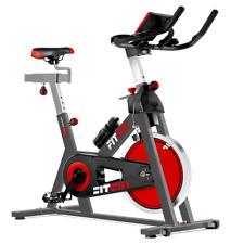 Bicicleta indoor spinning FITFIU ergonomica disco inercia 24kg pulsometro y LCD