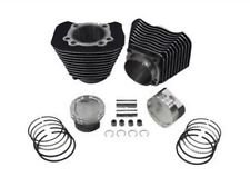 883-1200 CYLINDER & Wiseco PISTON BIG BORE CONVERSION KIT SPORTSTER black 86-03
