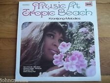SYLVIA AND THE TROPIC MESSENGERS - MUSIC AT TROPIC BEACH - KRONTJONG-MELODIES LP