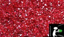 GLASGRANULAT, Spiegelglas,  STEINTEPPICH, GLASKIES 10 KG Rot