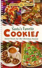 Santa's Favorite Cookies COOKBOOK Recipes NEW Christmas HOLIDAY Treats BAKING