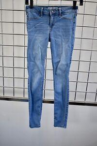 Hollister Blue Light Wash Pants Jeans/Jegging Size 23 On Sale