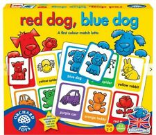 KIDS   ORCHARD TOYS   RED DOG BLUE DOG   FUN COLOUR MATCHING GAME