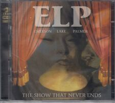 Emerson, Lake & Palmer (ELP) / The Show That Never Ends (2 CDs, NEU!)