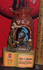 PEZ LOONEY TUNES ROAD RUNNER & WILE E COYOTE BATTERY OPERATED CANDY DISPENSER