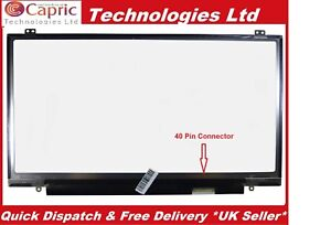"AUO OPTRONICS 14.0"" B140QAN01.1 LED QHD SCREEN  HP EliteBook 1040G"