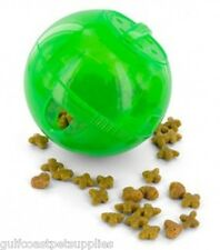 MultiVet SlimCat Cat Toy Ball & Food Dispenser - GREEN