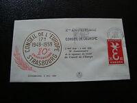 FRANCE - enveloppe 5/5/1959 (10eme anniv conseil de l europe) (cy19) french