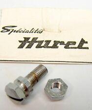 """Vintage NOS Huret Bicycle Front Derailleur Clamp Nut & Bolt 3/4"""" Long"""