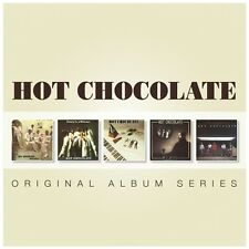 HOT CHOCOLATE 5CD NEW Man To Man/Every 1's A Winner/Going Through/Class/Mystery