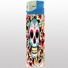 Jumbo Size Huge Big Giant 6.5inch Electronic Lighter Skull Design-018