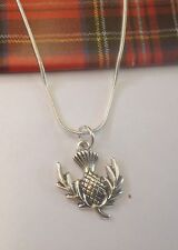 Scottish Thistle Pendant.........Silver Plated