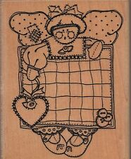 """Annette Allen Watkins """"Liza Beth Angel"""" Rubber Stamp"""