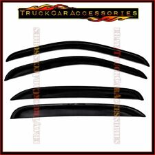 For GMC Sierra 1500 Crew Cab 2007-2011 2012 2013 4PC Windows Visors Guards Shade