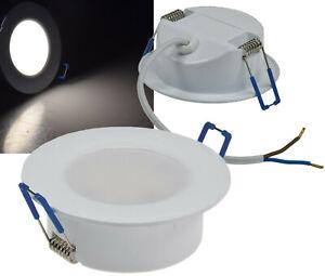 """3er Set LED-Einbauleuchte """"Flat-30 FR-R"""" 4000K Tageslichtweiß"""