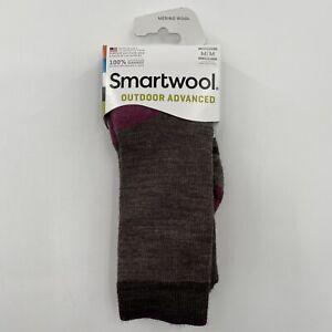 Smartwool Women's Outdoor Advanced Light Crew Hiking Socks Merino Wool M 7-9.5