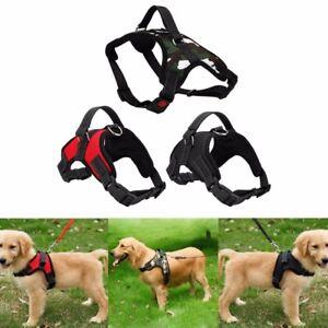 No Pull Adjustable Dog Pet Vest Harness Quality Nylon Small/Medium/Large/XL