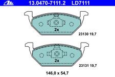 Bremsbelagsatz Scheibenbremse ATE Ceramic - ATE 13.0470-7111.2