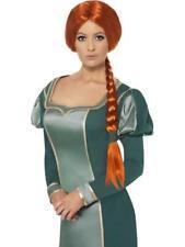 Ladies Shrek Fiona Wig -  Fancy Dress Accessory