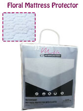Waterproof Mattress Protector Cosy Anti Bug Non Noisy Terry Matress Cover Sheets