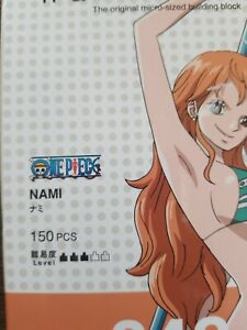 Nanoblock Onepiece Nami Building Set Construction 150 Piece Brand New