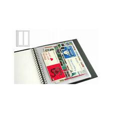 Recharges transparentes Supra Yvert à 2 bandes verticales pour carnets de timbre