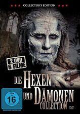 Die Hexen und Dämonen Collection - 6 Grusel Filme 2 DVD Box NEU Halloween Horror