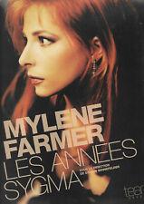 MYLENE FARMER  LES ANNÉES SYGMA  (DOCUMENT COMME NEUF ET COMPLET)