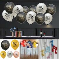 Happy New Year Latex Balloon Marry Wedding Engagement Party Decor Balloons NEWLY