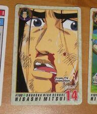 SLAM DUNK PP CARDDASS TV ANIMATION CARD REG CARTE 100 MADE IN JAPAN 1994 NM