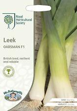 Mr Fothergills -  Vegetable - RHS Leek Oarsman F1 - 50 Seeds