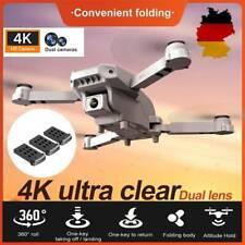 NEU Faltbar Drohne mit Dual 4K HD Kamera FPV WIFi Mini Selfie RC Quadcopter DE