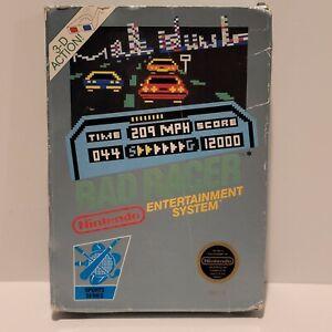 RAD RACER Box (Nintendo Entertainment System, 1987) NES BOX ONLY NO GAME!
