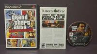 Grand Theft Auto Liberty City PS2 Playstation 2 COMPLETE Game 1 Owner Mint Disc