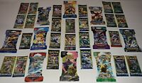 Lot of 34 Assorted / Authentic Pokemon Booster Packs / 16 Different Sets / NEW