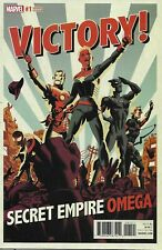 Secret Empire Comic Issue 1 Omega Limited Variant Modern Age First Print 2017