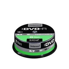 CD, DVD y Blu-ray discs Intenso 16x para ordenadores y tablets
