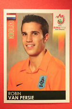 Panini EURO 2008 N. 276 VAN PERSIE NEDERLAND NEW With BLACK BACK TOPMINT !!