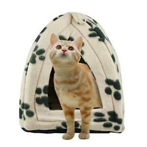 Cat Igloo Bed Cat Cave Small Puppy Pet Bed Cat Bed House Small Dog Bed Basket