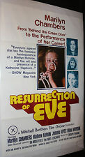 Resurrection of Eve Pornographic Film Poster - Marilyn Chambers (C-7 / C-8) 1973