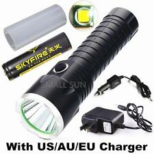 SMALL SUN ZY-T610 2000lumen 500meter CREE XM-L T6 LED TACTICAL Flashlight Torch