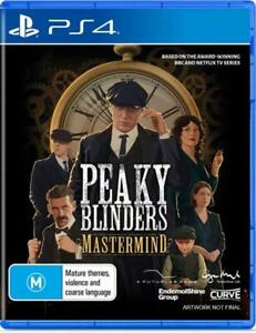 Peaky Blinders Mastermind Playstation 4 PS4 LIKE NEW FREE POST + TRACKING !