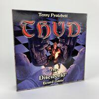 Vintage THUD Board Game Terry Pratchett's Discworld Battle - 100% Complete VGC