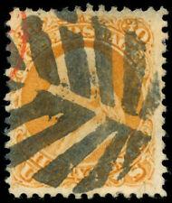 momen: US Stamps #71 Used Fancy Leaf Cancel VF/XF App.