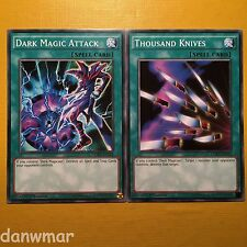 YuGiOh! Dark Magic Attack + Thousand Knives ~ (Dark Magician Support) ~ 2 Cards!