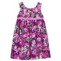 NWT Gymboree Dressed Up Wildflower Purple Floral Sleeveless Girls Dress