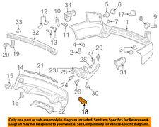 Acura HONDA OEM 07-09 MDX-Bumper Trim-Reflector Right 33505STXA01